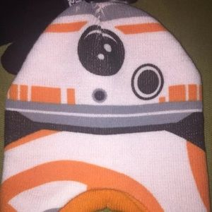 Star Wars Accessories - New with Tags Star Wars BB8 Knit Hat   Gloves 4a313b6db68a